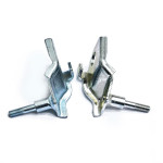 Supports front shock absorbers