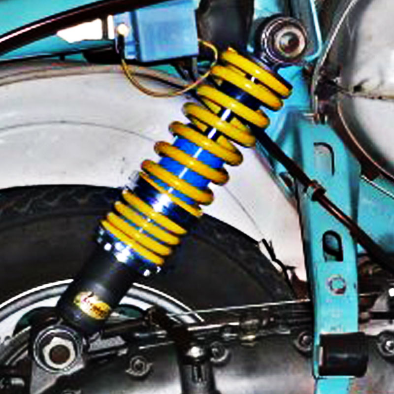 S3 Rear Adjustable Absorber STRATOS Lambretta