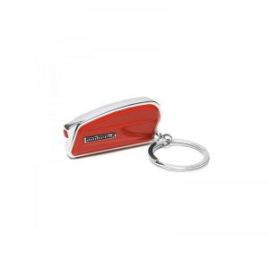 LAMBRETTA SIDE KEYCHAIN - RED