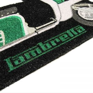 LAMBRETTA SHAPED DOORMAT - GREEN